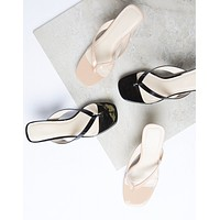Penelope Kitten Heel Sandals