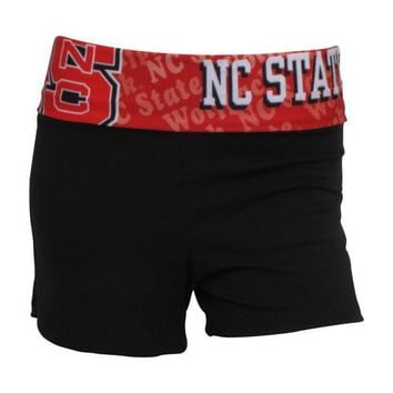 N.C. State Wolfpack Cameo Ladies Shorts