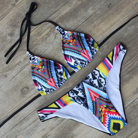 Strappy Bikini Bandage Bathing Suits