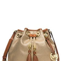 Women's MICHAEL Michael Kors 'Medium Marina' Messenger Crossbody Bag