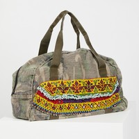 Free People Hmong Embellished Tote