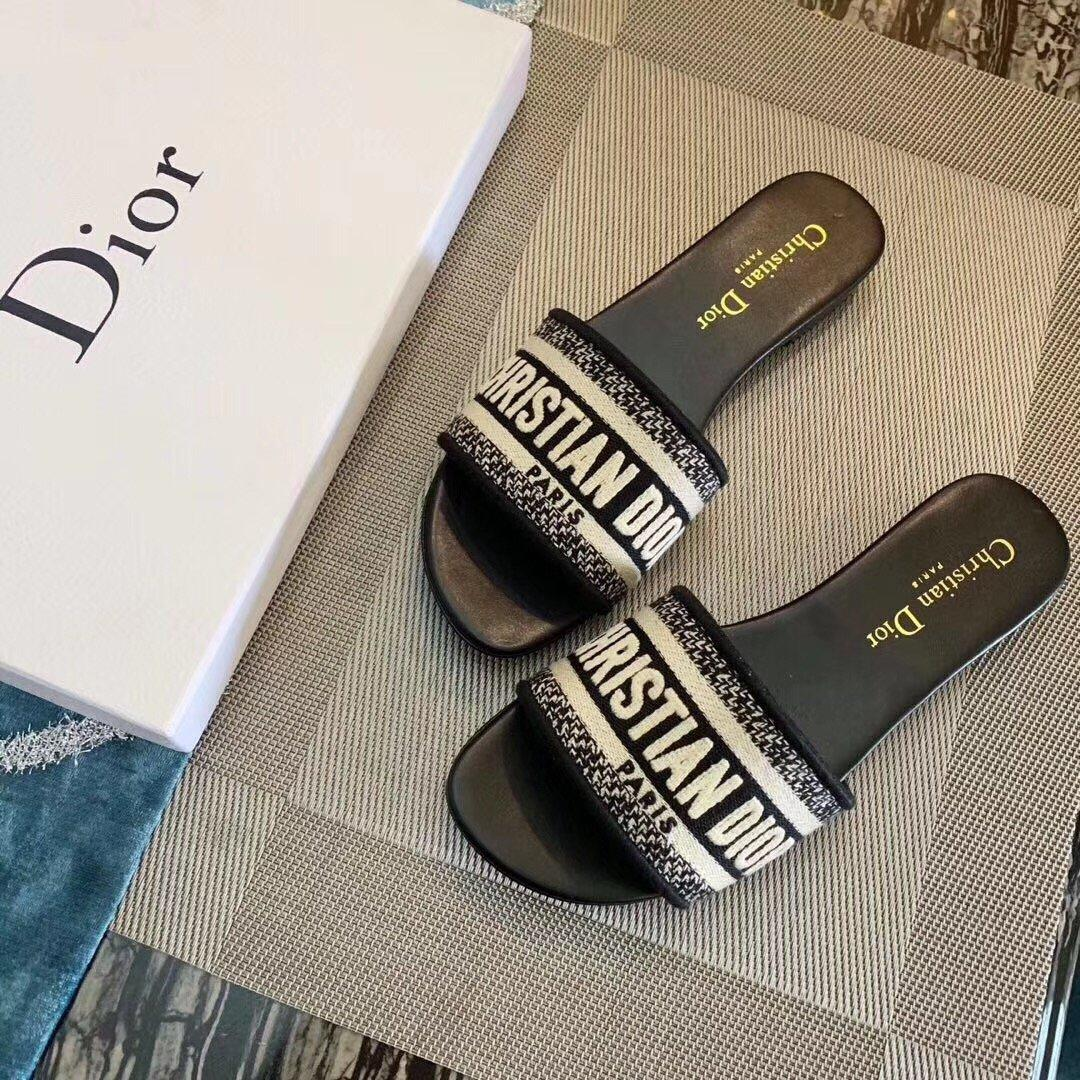 Image of Dior Flat bottom slippers 6 colors