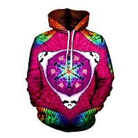 Heady Psychedelic Pullover Hoodie