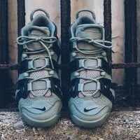 Nike Air More Uptempo¡°Green 3M¡± Basketball Shoes 415082-007