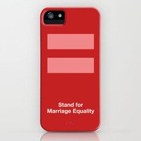 Stand for Marriage Equality iPhone Case by Bluebird Design