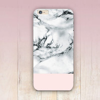 White Marble Print Phone Case  - iPhone 6 Case - iPhone 5 Case - iPhone 4 Case - Samsung S4 Case - iPhone 5C - Tough Case - Matte Case
