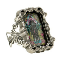 Disney The Little Mermaid Ursula Cameo Ring