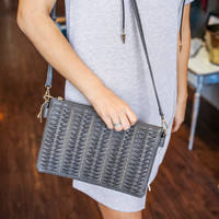 Uptown Purse - Charcoal