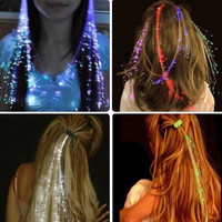 LED Rave Hair Extensions