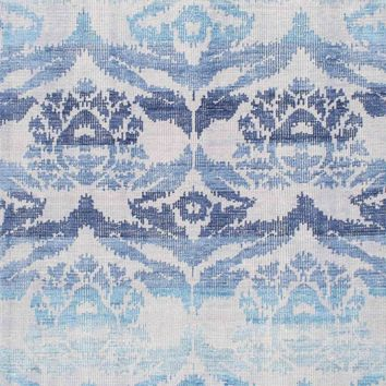 nuLOOM Hand Knotted Kayce Blue Rug