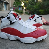 Air Jordan 6 Rings Red/White