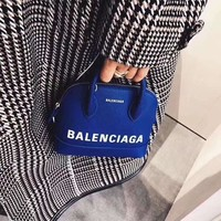 Balenciaga Ville Top Handle Mini Graffiti Logo Calfskin Bag #335