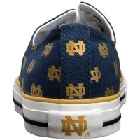 Notre Dame Fighting Irish Oxford Shoes - Navy Blue