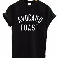 AVOCADO TOAST Women's Casual T-Shirt