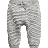 Moss-knit Pants - from H&M