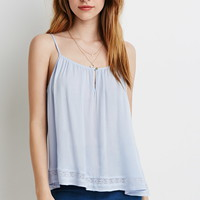 Lace-Trimmed Cami | Forever 21 - 2000078353