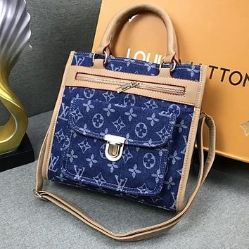 Louis Vuitton LV Women Fashion Tote Handbag Crossbody Satchel