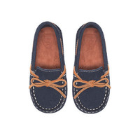 Casual leather moccasin - Shoes - Baby boy - Kids   ZARA United States