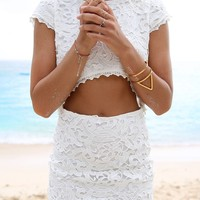 Tropez Lace Set | SABO SKIRT