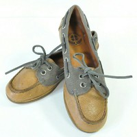 Lucky Brand Boat Shoes | Leather Loafers Firefish