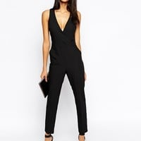 ASOS Jumpsuit with Chic Wrap at asos.com