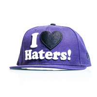 DGK I love Haters Fitted Cap - Purple