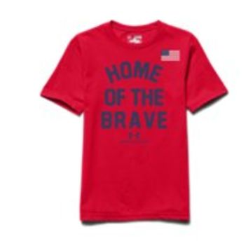Under Armour Boys' UA Home Of The Brave T-Shirt