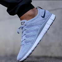 NIKE knit fly line men and women trendy fashionable shoes F