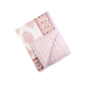 XL TWIN PINK CITY COTTON QUILT