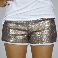 Dancing Shine Sequin Shorts