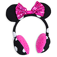 Minnie Mouse Clubhouse Knitted Ear Muffs for Kids