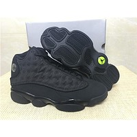 "Air Jordan 13 ""Black Cat"" Basketball Shoes 36-47"