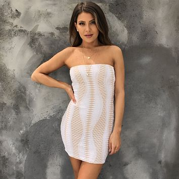 By Your Side Sequin Bodycon Dress