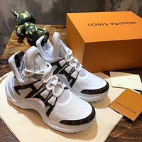 lv louis vuitton womans mens 2020 new fashion casual shoes sneaker sport running shoes 5