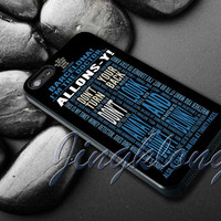 Doctor Who Tardis Quotes Cover - iPhone 4 4S iPhone 5 5S 5C and Samsung Galaxy S3 S4 Case