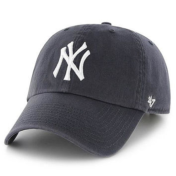 New York Yankees Clean Up Adjustable Game Cap by '47 Brand - MLB.com Shop