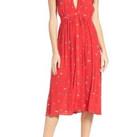 Knot Sisters Secret Garden Midi Dress | Nordstrom