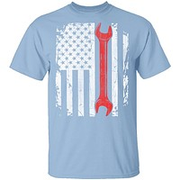 Mechanic Flag T-Shirt