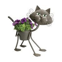 Glamour the Cat Planter
