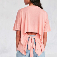 Truly Madly Deeply Jordan Tie-Back Tee - Urban Outfitters