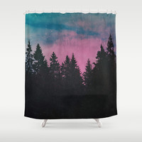 Breathe This Air Shower Curtain by Tordis Kayma