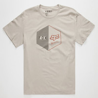 Fox The Momentum Mens T-Shirt Light Grey  In Sizes