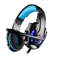 KOTION EACH G9000 3.5mm Game Gaming Headphone Headset Earphone With Mic LED Light For Laptop Tablet PS4 Mobile Phones