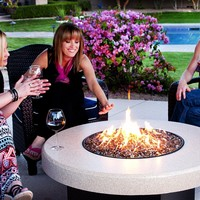 """Oriflamme Fire Pit Fire Table Tuscan 42"""""""