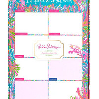 Lilly Pulitzer List Pad- Scuba to Cuba