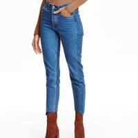 Straight High Jeans - from H&M