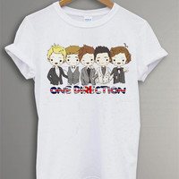 One Direction  Shirt The One Direction t-Shirt Symbol Printed White For Men Or Women Size TS 23