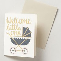 1canoe2 Welcome Little One Card in Cream Size: One Size Books