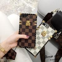 LV Hot ! iPhone 8 iPhone X plus - Stylish Cute On Sale Hot Deal Apple Matte Couple Phone Case For iphone 6 6s 6plus 6s plus