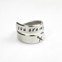 You Are My True North, Soul Mate And Soul Friend Ring, Couple And Best Friends Gift